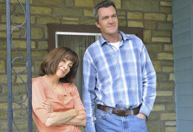 Patricia Heaton, Neil Flynn in The Middle