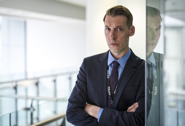 Craig Parkinson as Detective Inspector Matthew Cottan in Line of Duty episode 3