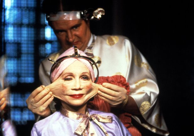 Katherine Helmond and Jim Broadbent in 'Brazil'