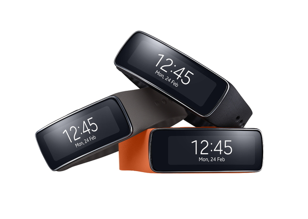 Samsung's Gear Fit fitness band
