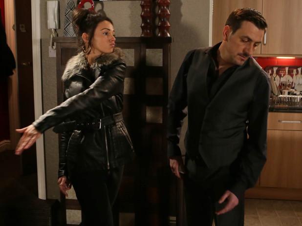 Tina slaps Peter