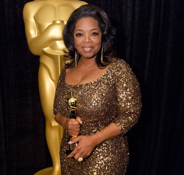 Oprah Winfrey at the 84th Annual Academy Awards