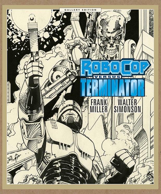 Frank Miller's RoboCop versus The Terminator