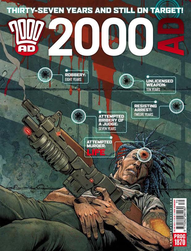 2000 AD Prog 1870 cover