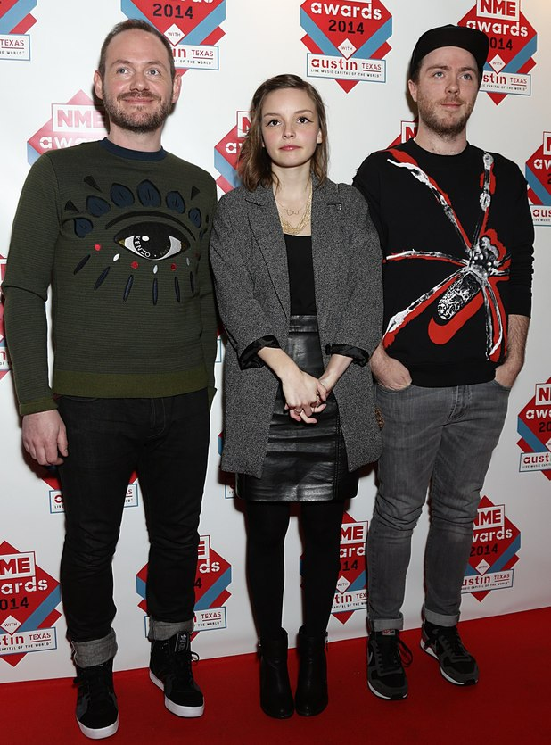 NME Awards: Chvrches