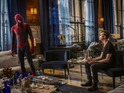 Peter Parker, Harry Osborn and Electro feature in the exclusive images.