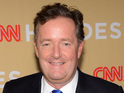 Piers Morgan continues campaign for US to change gun laws in CNN series finale.