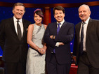 Comedian will interview Lily Allen, Alan Sugar and Terry Wogan in first episode.