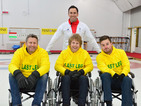 Last Leg hosts take on wheelchair curling for Paralympics