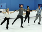 Dancing on Ice stars prepare for final show - pictures