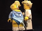 Duo immortalised in LEGO ahead of tonight's (March 9) last ever Dancing on Ice.