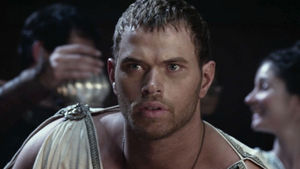 Watch Twilight star Kellan Lutz in an exclusive clip from The Legend of Hercules.