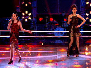 Sophie May Williams and Cherri Prince battle on The Voice