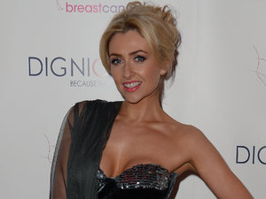 Gemma Merna at the Boot Out Breast Cancer Bollywood Ball