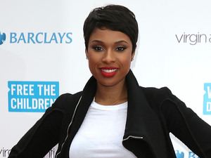 Jennifer Hudson attends the We Day UK, a charity event to bring young people together at Wembley Arena