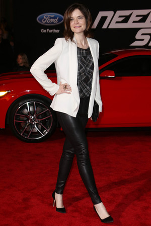 'Need For Speed' film premiere, Los Angeles, America - 06 Mar 2014 Betsy Brandt
