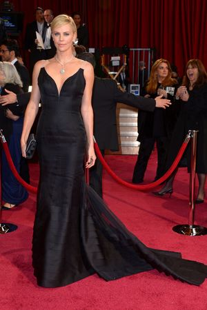 86th Annual Academy Awards Oscars, Arrivals, Los Angeles, America - 02 Mar 2014 Charlize Theron