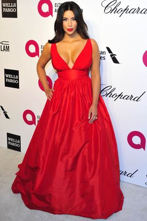 86th Annual Academy Awards Oscars, Vanity Fair Party, Los Angeles, America - 02 Mar 2014 Kim Kardashian