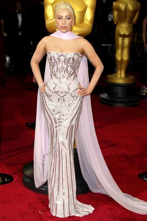 th Annual Academy Awards Oscars, Arrivals, Los Angeles, America - 02 Mar 2014 Lady Gaga