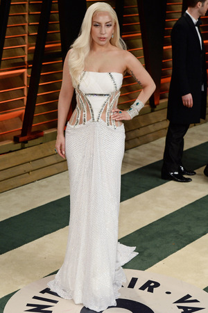 86th Annual Academy Awards Oscars, Vanity Fair Party, Los Angeles, America - 02 Mar 2014 Lady Gaga 2 Mar 2014