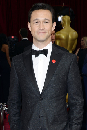 Joseph Gordon-Levitt arrives at the Oscars on Sunday, March 2, 2014, at the Dolby Theatre in Los Angeles.