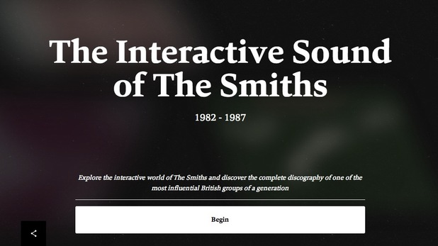 The Smiths revamped website in 2014.