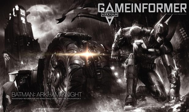Batman Arkham Knight Game Informer cover