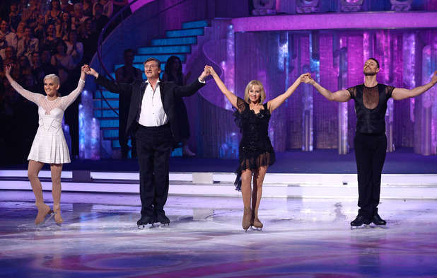 The Dancing on Ice Judges