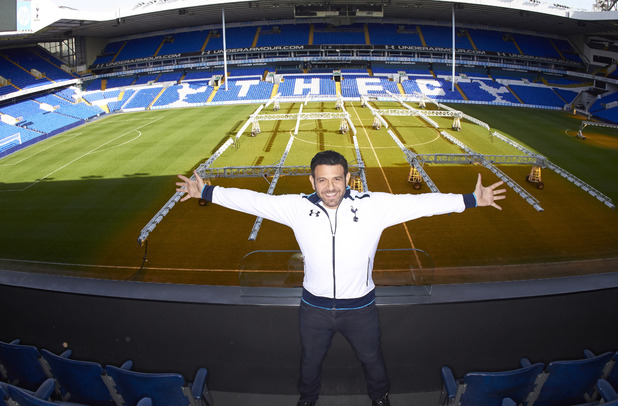 Adam Richman at White Hart Lane