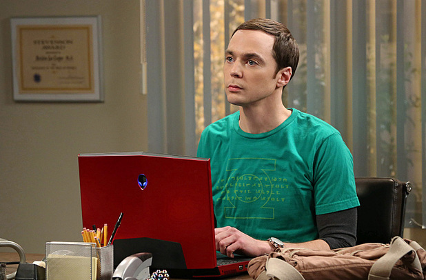 Jim Parsons as Sheldon in The Big Bang Theory: 'The Friendship Turbulence'