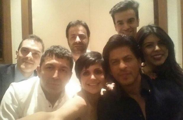 Shah Rukh Khan's Bollywood selfie
