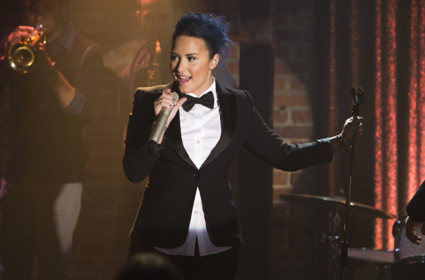 Demi Lovato as Dani in Glee S05E10: 'Trio'