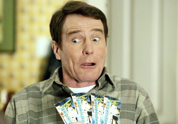 Bryan Cranston in Malcolm In The Middle