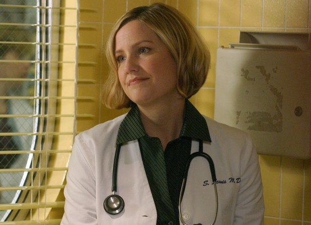 Sherry Stringfield as Doctor Susan Lewis in ER