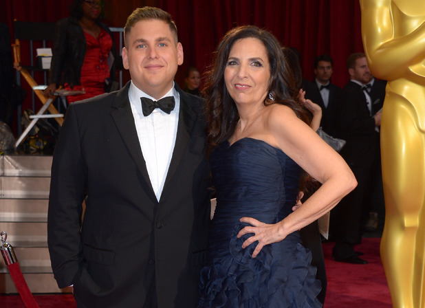 86th Annual Academy Awards Oscars, Arrivals, Los Angeles, America - 02 Mar 2014 Jonah Hill and guest mother Sharon Lyn Chalkin