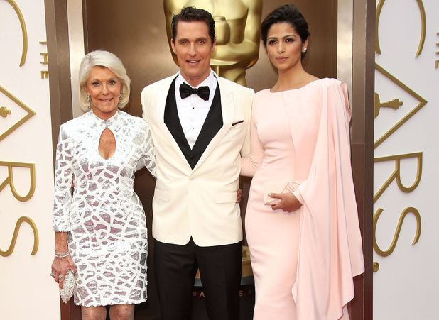 86th Annual Academy Awards Oscars, Arrivals, Los Angeles, America - 02 Mar 2014 Matthew McConaughey with mother and Camila Alves 2 Mar 2014 mother Mary Kathlene McCabe