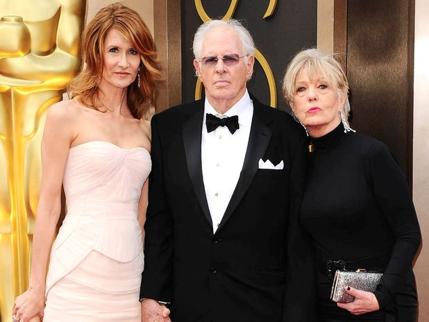86th Annual Academy Awards Oscars, Arrivals, Los Angeles, America - 02 Mar 2014 Laura Dern, Bruce Dern and Andrea Beckett 2 Mar 2014