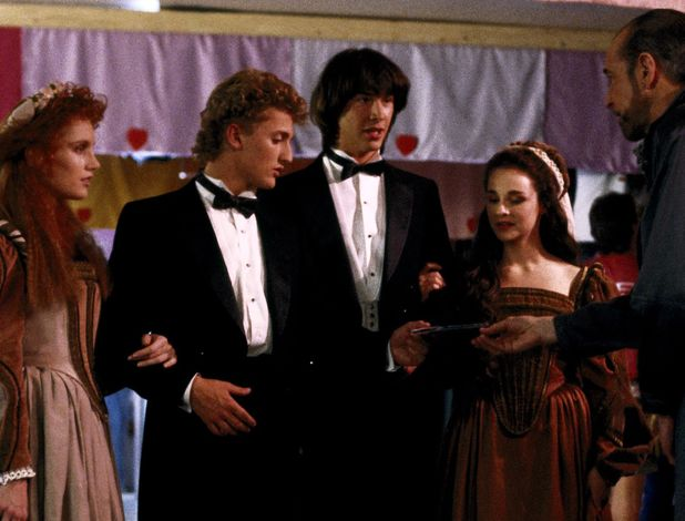 Alex Winter & Keanu Reeves in Bill & Ted's Excellent Adventure