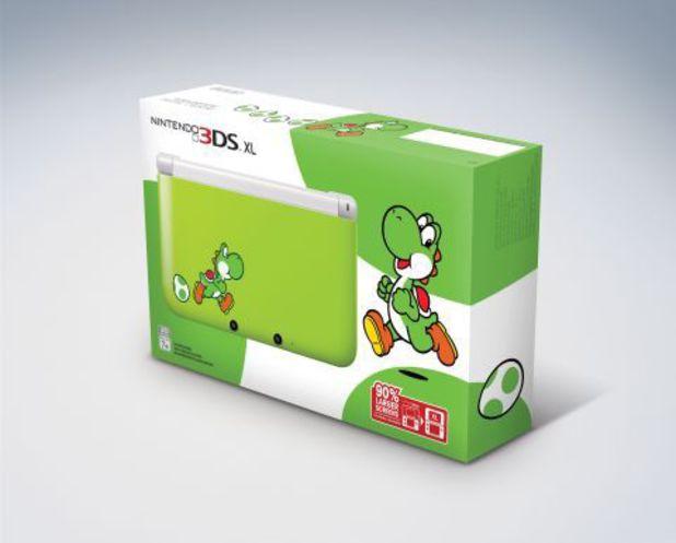 Yoshi Edition Nintendo 3DS XL system