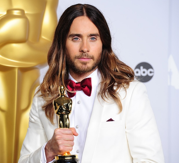 Jared Leto with the best supporting actor Oscar