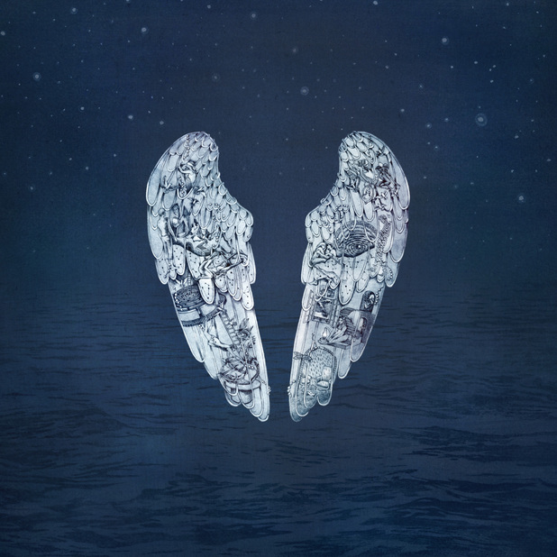 Coldplay Ghost Stories album sleeve
