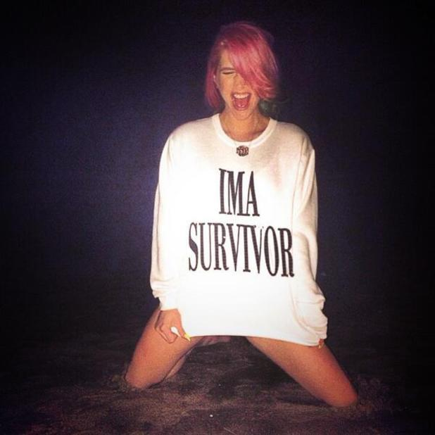 Ke$ha posts courageous beach-side photo following rehab stay.