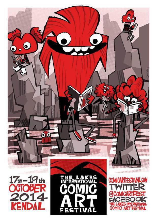 Lakes Festival 2014 Poblin's Gang mascots