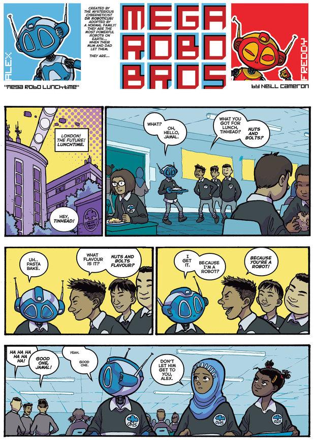 Mega Robo Bros preview
