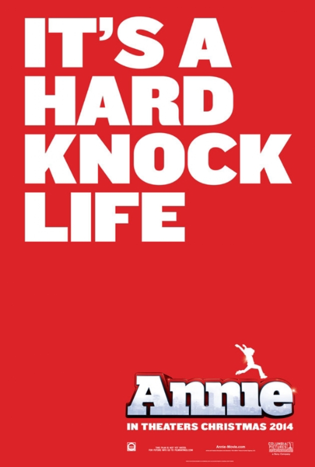 A teaser poster for Annie