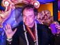 Tarantino takes part in Mardi Gras parade