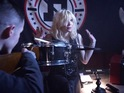 Fall Out Boy & Courtney Love in 'Rat A Tat' music video.