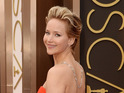 "Jennifer Lawrence jokes to reporters that she is ""not safe"" after latest tumble."