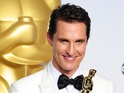 Dallas Buyers Club star takes home his first Academy Award.