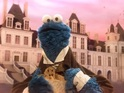 Cookie Monster stars in the spoof as Jean Bon Bon searching for cookies.